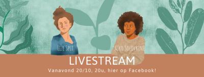 Livestream op 20/11 om 20u
