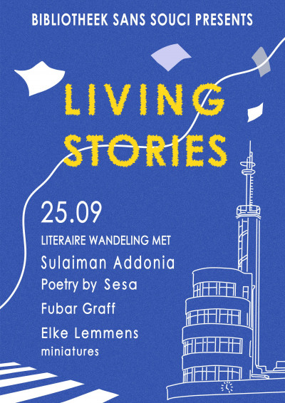 Literaire wandeling met / Literary walk with Sulaiman Addonia (ENG +NL)
